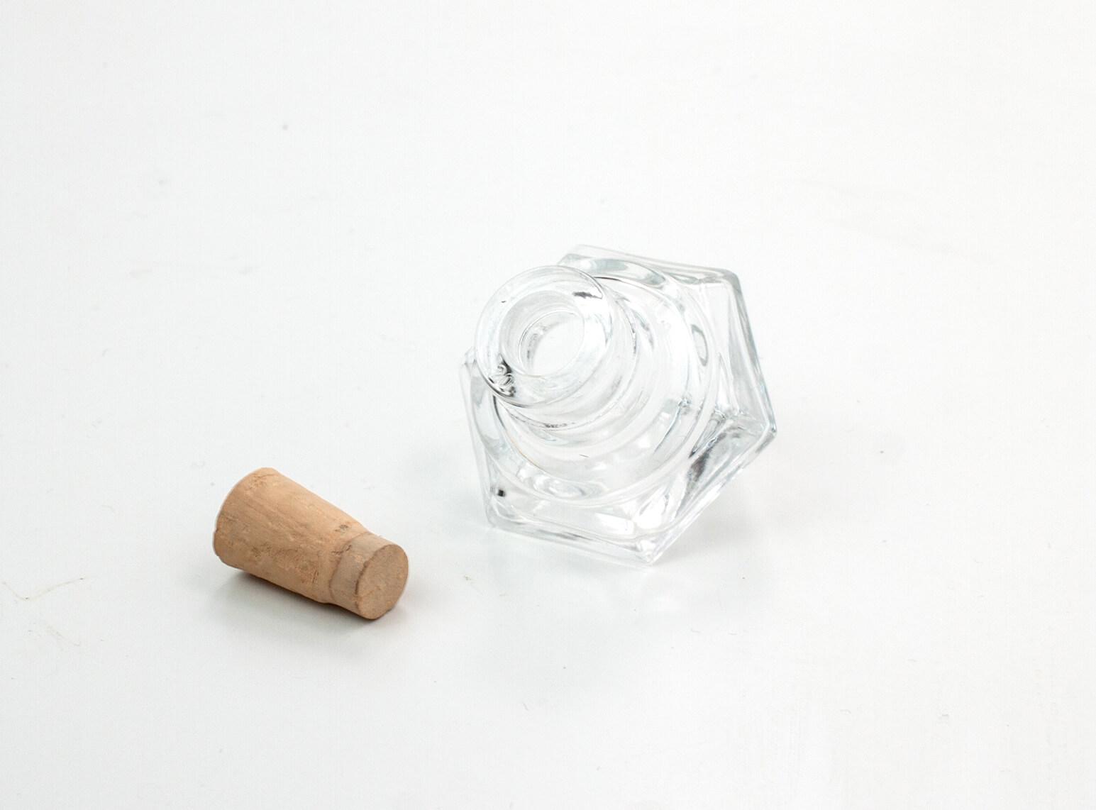 Gastgeschenk Glas Diamant / offen / Hochzeit / Tischschmuck / Deko