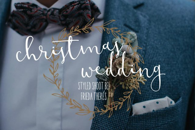Christmas Wedding Inspirationsshooting