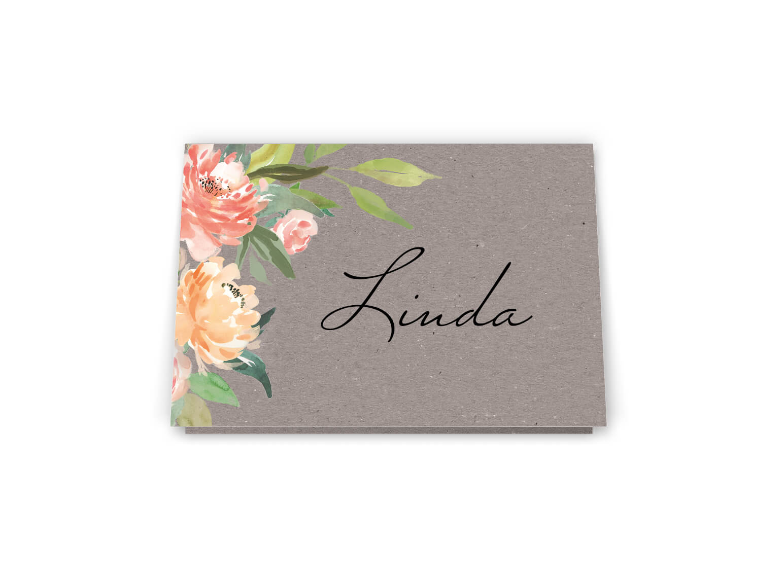 Platzkarten Hochzeit Namenschild