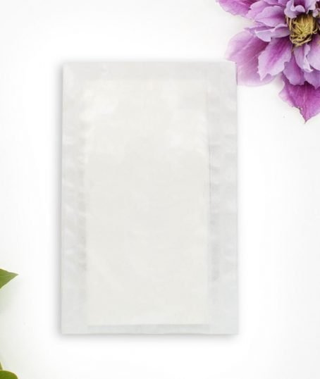 Transparente Tütchen für Taschentücher oder Blumensamen